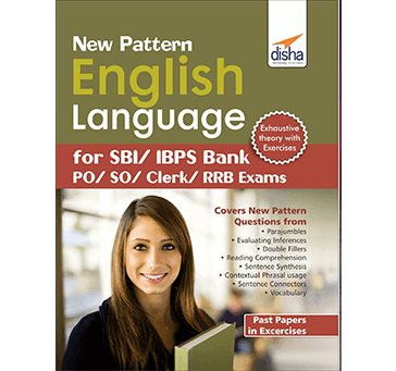 Disha - New Pattern English Language useful for SBI/IBPS Bank PO/SO/Clerk/RRB Exams - 2019