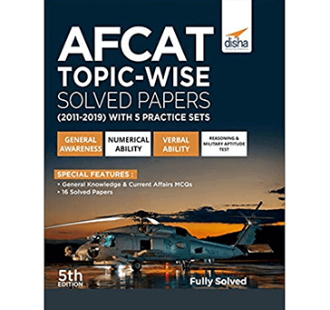 Disha - AFCAT Topic-wise Solved Papers (2011 - 19) with 5 Practice Sets 5th Edition Paperback – 15 Jun 2019