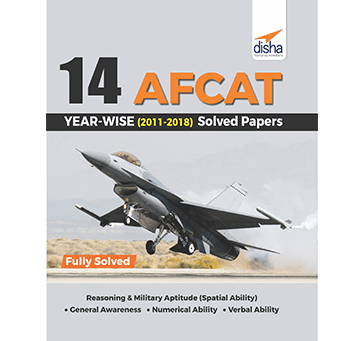 Disha - AFCAT Solved Papers 2011 to 2018 in English Medium