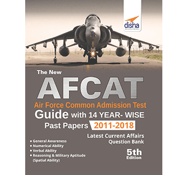 Disha - AFCAT Guide with Past 14 Years Solved Papers for 2018 Exam in English Medium