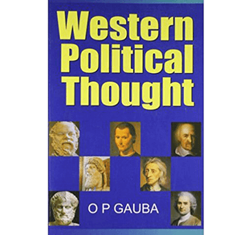 Buy Western Political Thought By O P Gauba