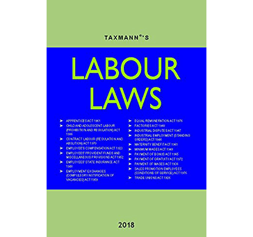Labour Laws - 2018 by Taxmann in English Medium