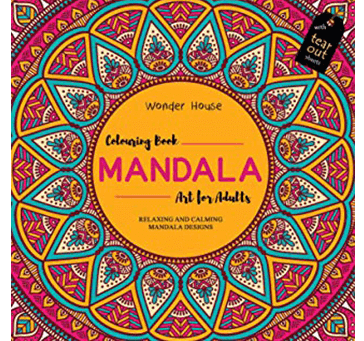 Buy Mandala Art: Colouring Books For Adults With Tear Out Sheets (Adult Colouring Book)