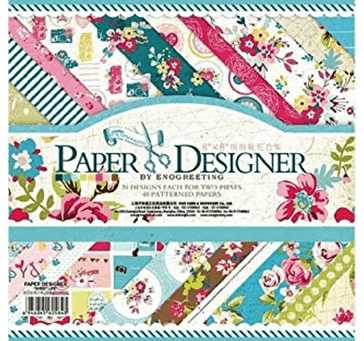 Buy Eno Greeting Pattern Design Printed Papers For Art And Craft