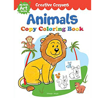 Buy Colouring Book Of Animals: Creative Crayons Series - Crayon Copy Colour Books