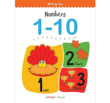 Numbers 1 - 10: Write and Practice Numbers 1 to 10