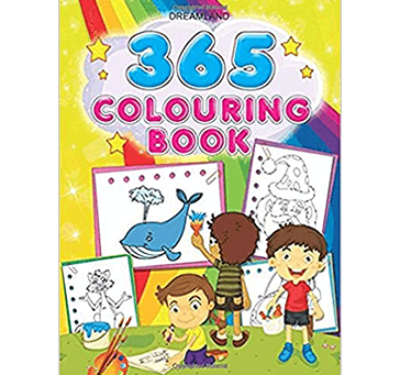 Buy 365 Colouring Book