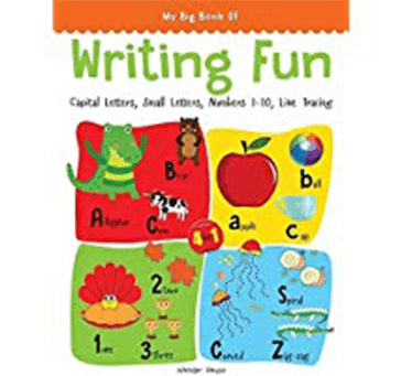 Writing Practice A Set Of 4 Books (Writing Fun Pack)