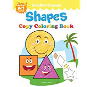 Buy Shapes Coloring Book: Creative Crayons Series