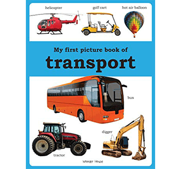 Buy My First Picture Book Of Transport