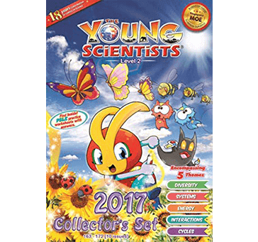 Buy Young Scientists Level 2. 163-172 Series. Set Of 10 Books Comics Books