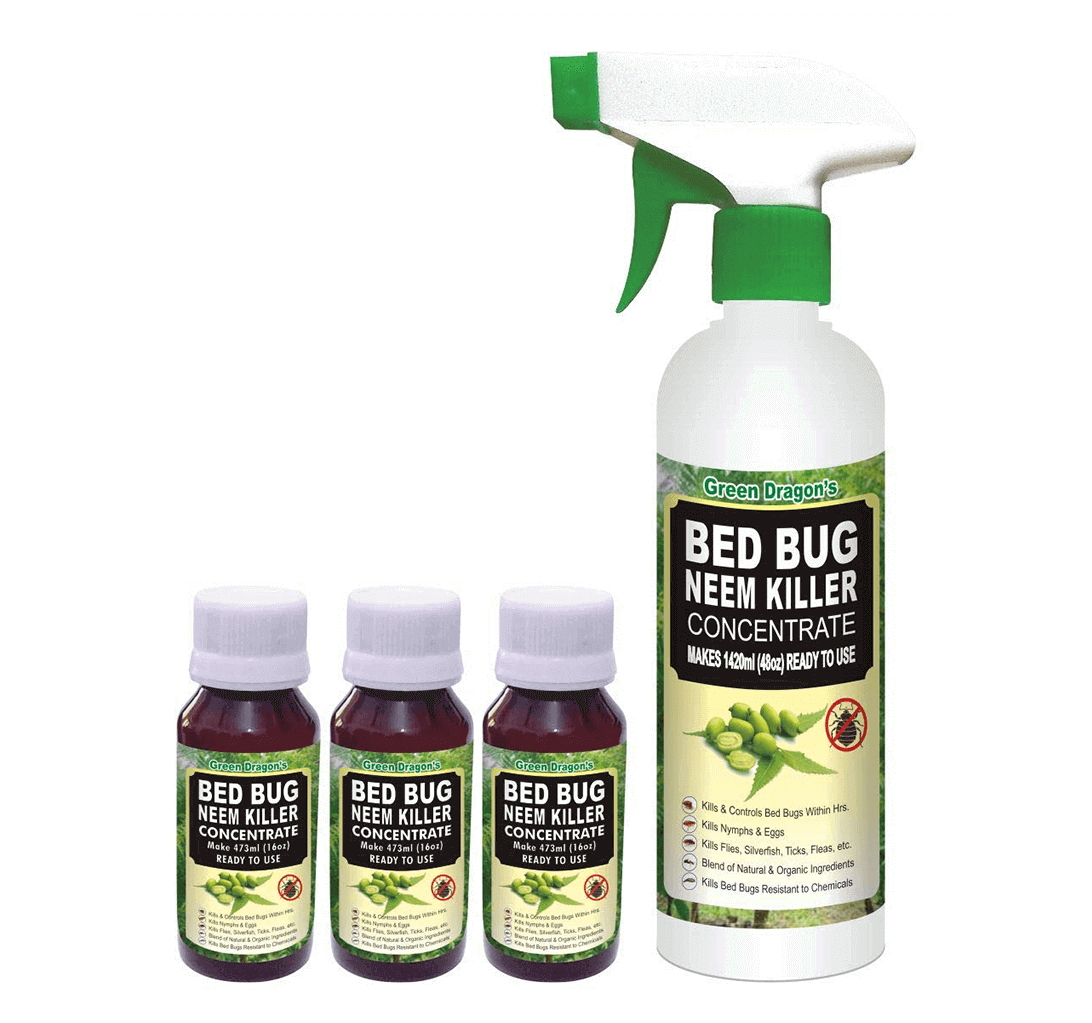 Green Dragon's Bed Bug Neem Killer Concentrate 1420ml