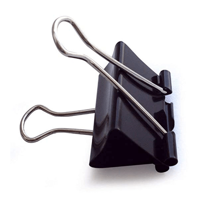 Buy Binder Clip (25MM) (12 Pcs)
