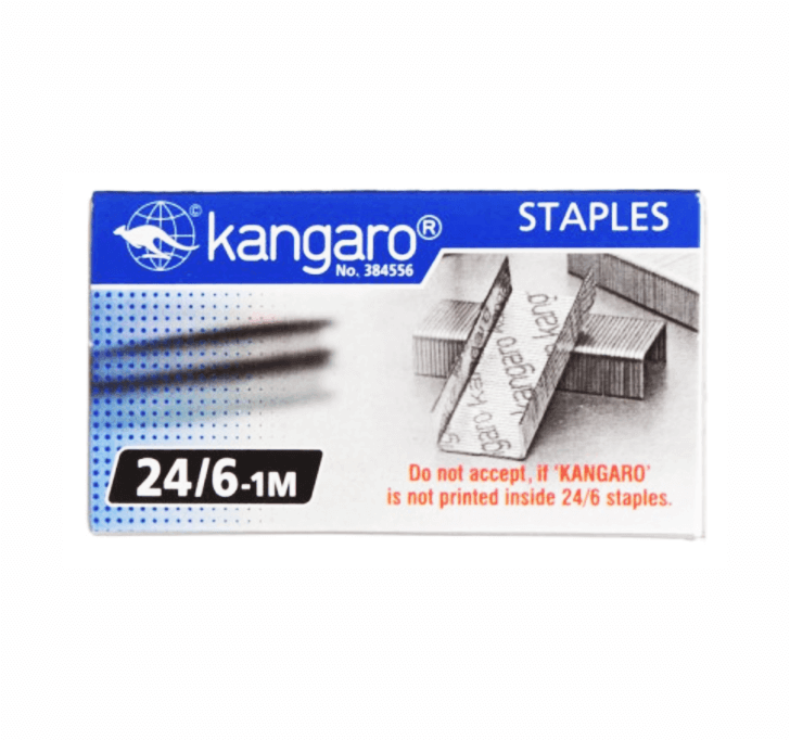 Buy Kangaro 24/6-1M Staples Pack