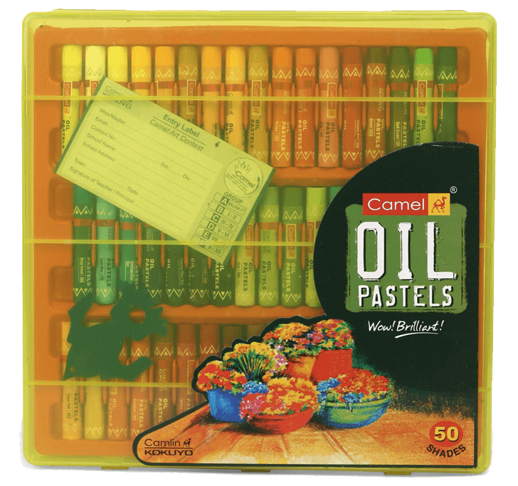 Buy Camel - Oil Pastels (50 Shades)