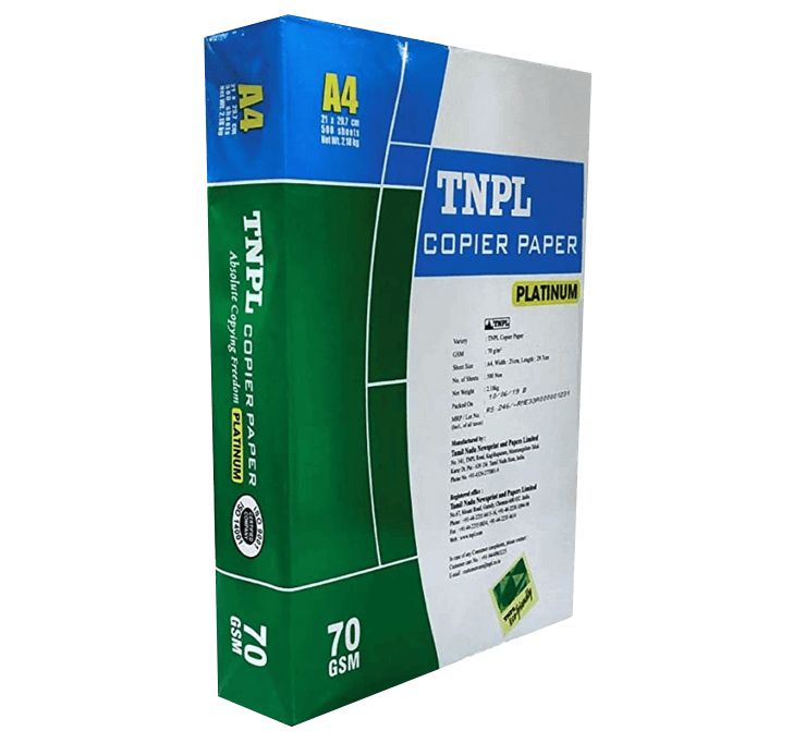 Buy TNPL Copier Paper 70 GSM A4 Size