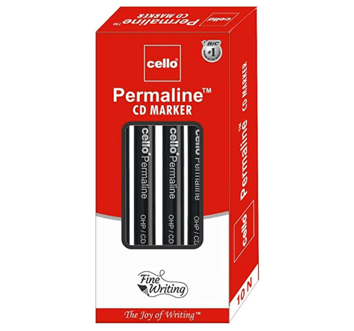 Buy Cello Permaline Permanent Marker (Black)