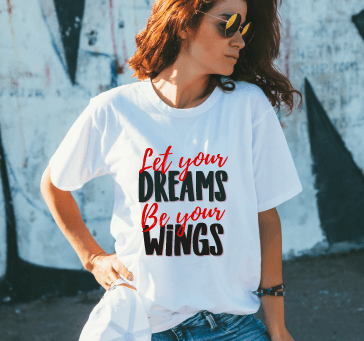 Buy Let Your Dreams Be Your Wings
