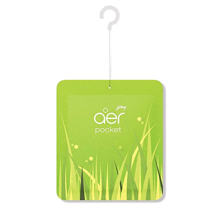 Buy Godrej Aer Pocket, Bathroom Air Fragrance - Fresh Lush Green (10g)