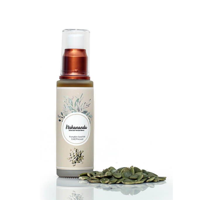 Keshananda Cold Pressed Pumpkin Seed Oil (50 ml)