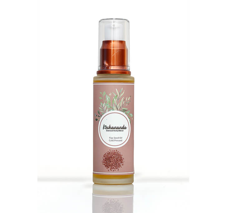 Keshananda Cold Pressed Flax Seed Oil (50 ml)