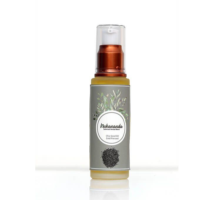 Keshananda Cold Pressed Chia Seed Oil