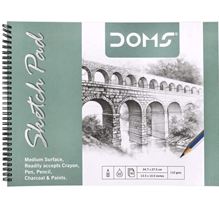 Buy DOMS Sketch Pad - 110 GSM (50 Sheets)
