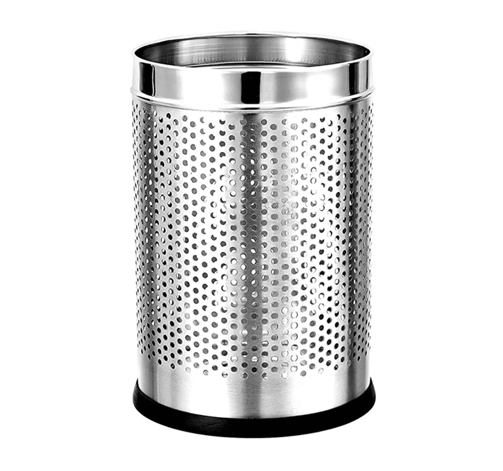 Stainless Steel Perforated Dustbin (7 x 10)
