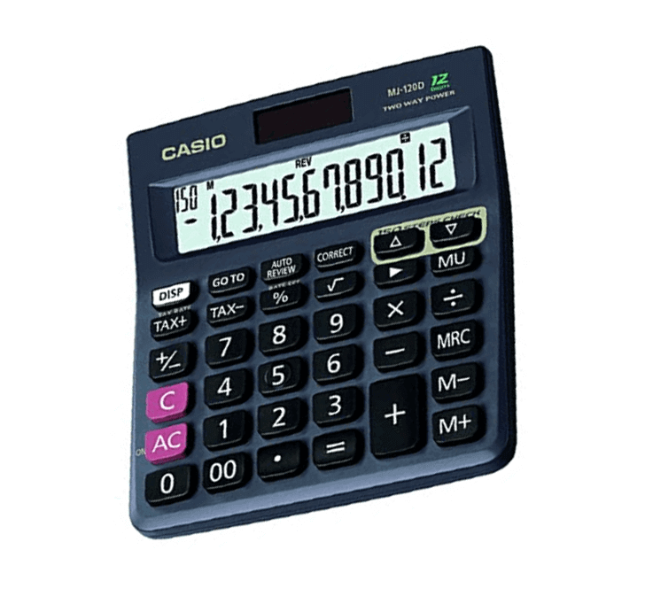 Buy Casio MJ-120D (150 Steps Check And Correct Desktop Calculator)