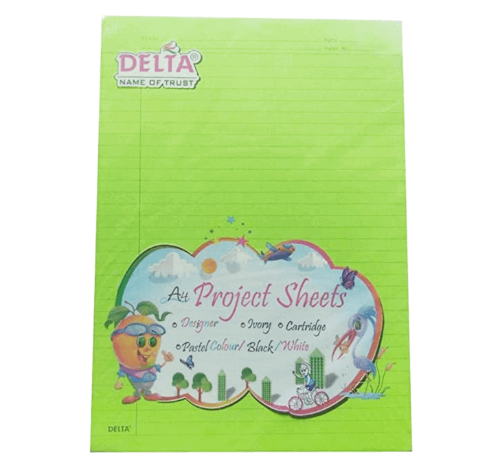 Buy Delta A4 Project Sheets (20 Sheets)