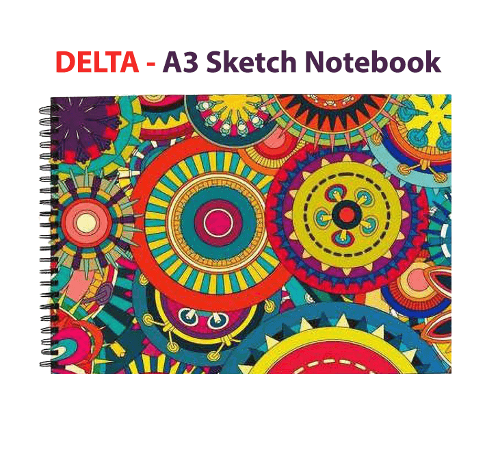 Buy DELTA A3 Sketch Notebook (30 Sheets)