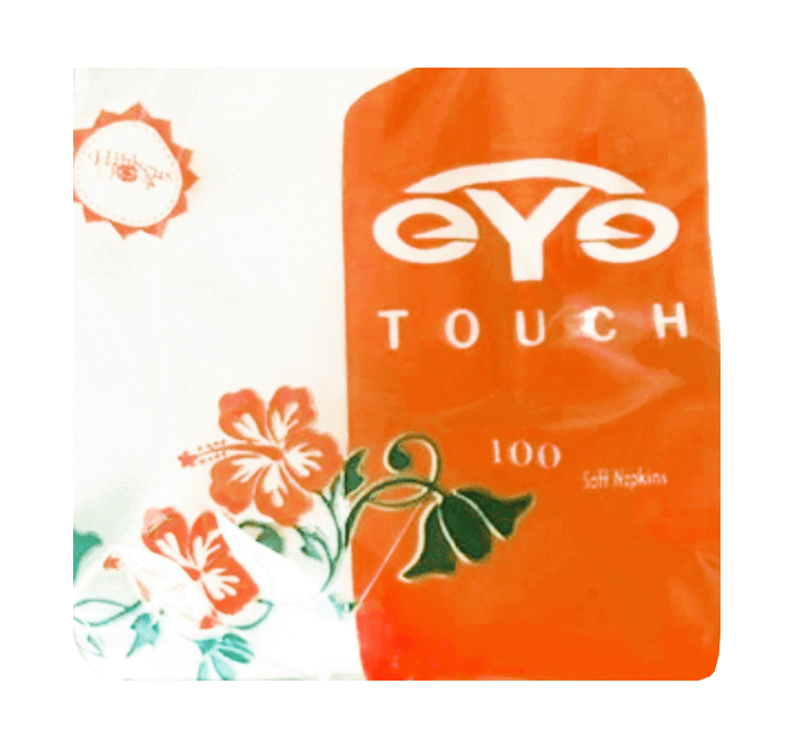 Buy EYe Touch (100 Soft Napkins) (30 X 30 Cm) 100 Gram Approx