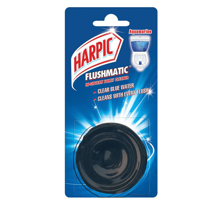 Harpic Flushmatic Aquamarine Toilet Cleaner (50 g)