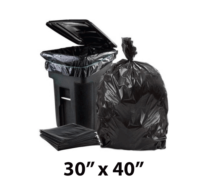 Buy Garbage Bags (30 X 40 Inch) 51 Microns