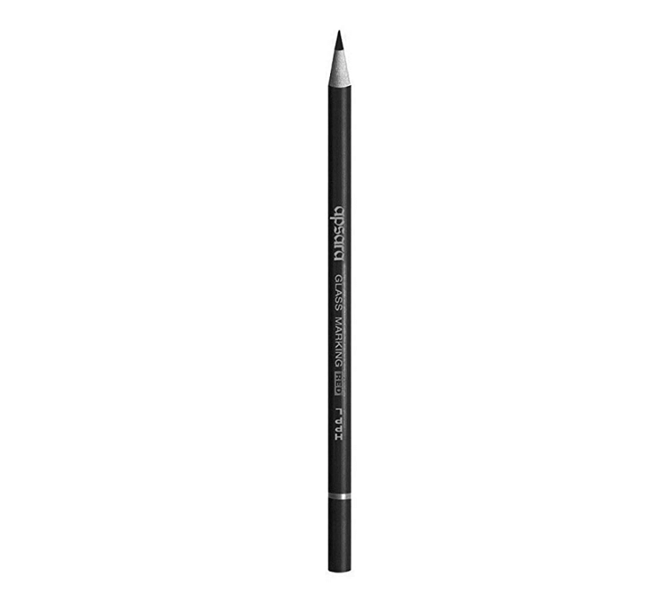 Buy Apsara Glass Wooden Pencils, Black - Pack Of 10