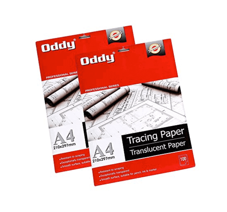 Buy Oddy A4 Tracing Butter Paper (100 Sheets)