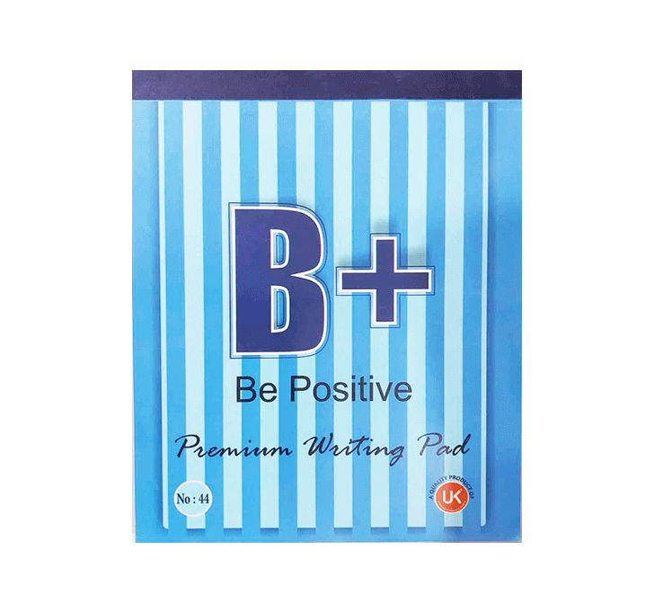 Buy B+ Be Positive Premium Writing Pad (70 Sheets)