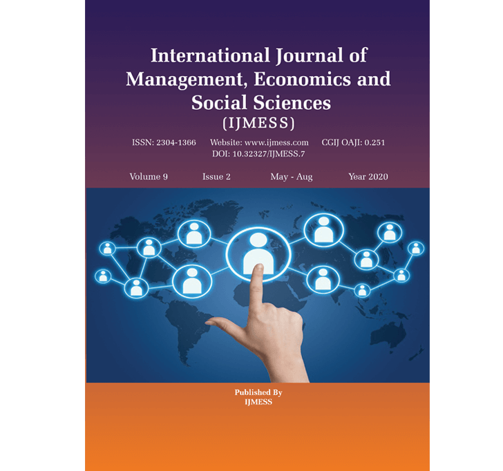 Buy International Journal Of Management, Economics And Social Sciences