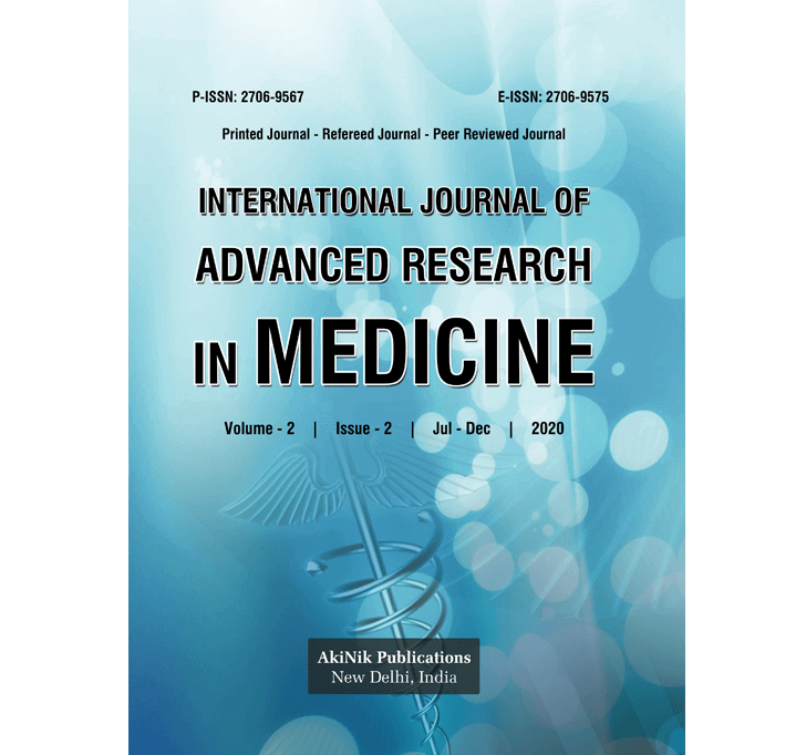 Buy International Journal Of Advanced Research In Medicine