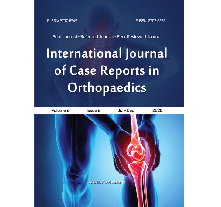 Buy International Journal Of Case Reports In Orthopaedics