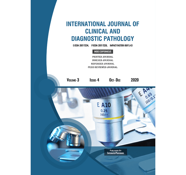Buy International Journal Of Clinical And Diagnostic Pathology