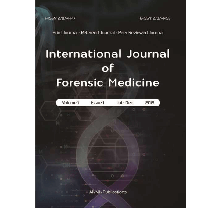 Buy International Journal Of Forensic Medicine
