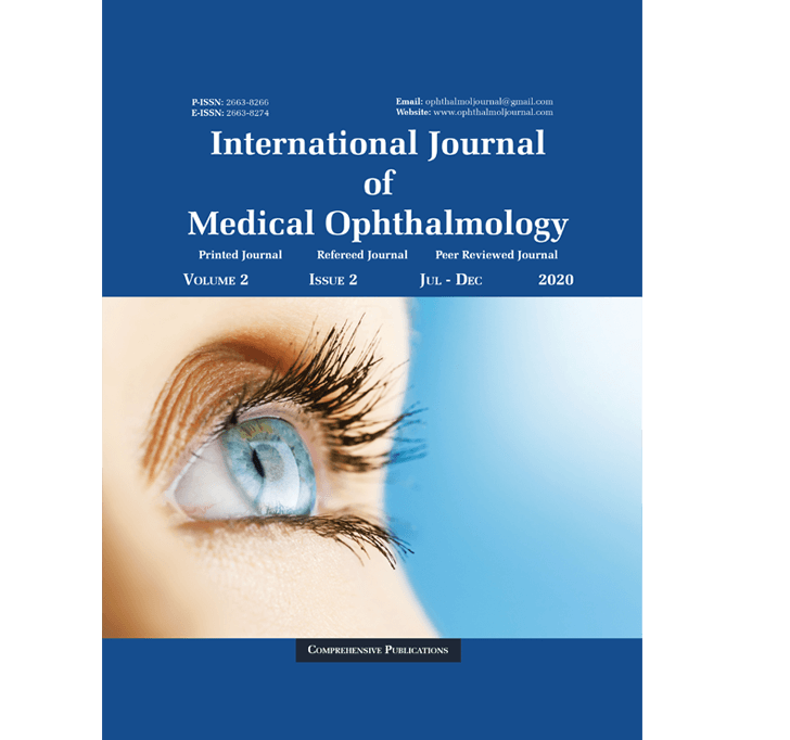 Buy International Journal Of Medical Ophthalmology