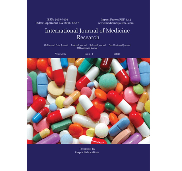 Buy International Journal Of Medicine Research