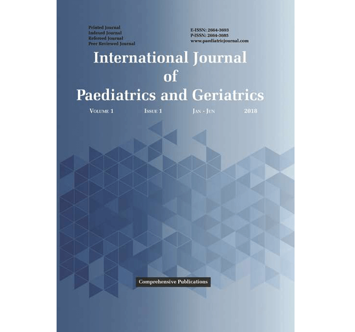 Buy International Journal Of Paediatrics And Geriatrics
