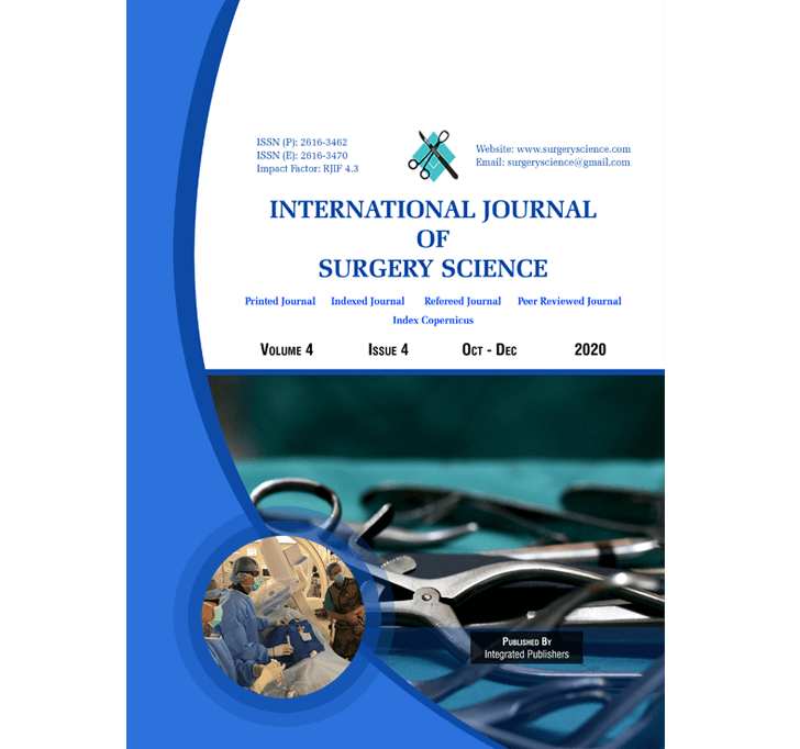 Buy International Journal Of Surgery Science