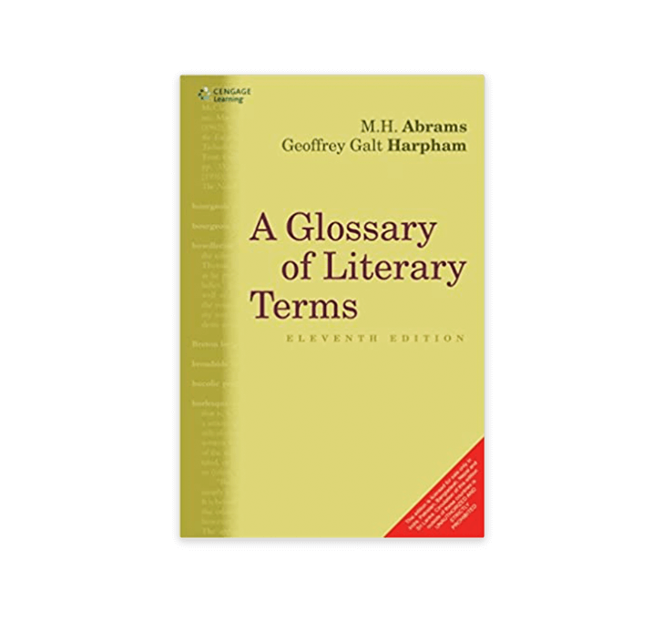 Buy A Glossary Of Literary Terms Cengage Learning India