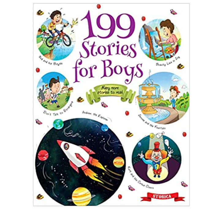 Buy 199 Stories For Boys (Exciting Story For 3 To 6 Yrs Old Boys)