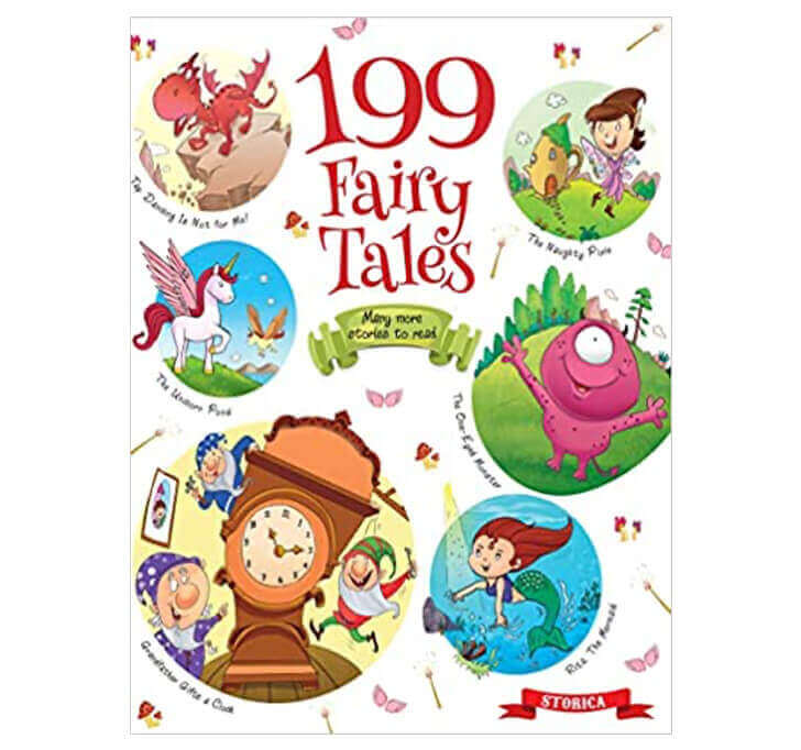 Buy 199 Fairy Tales (3 To 6 Year Old Kids)