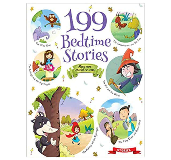 Buy 199 Bedtime Stories (3 To 6 Year Old Kids)